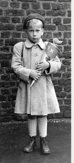 Karl-Gallwe-Einschulug-April-1950